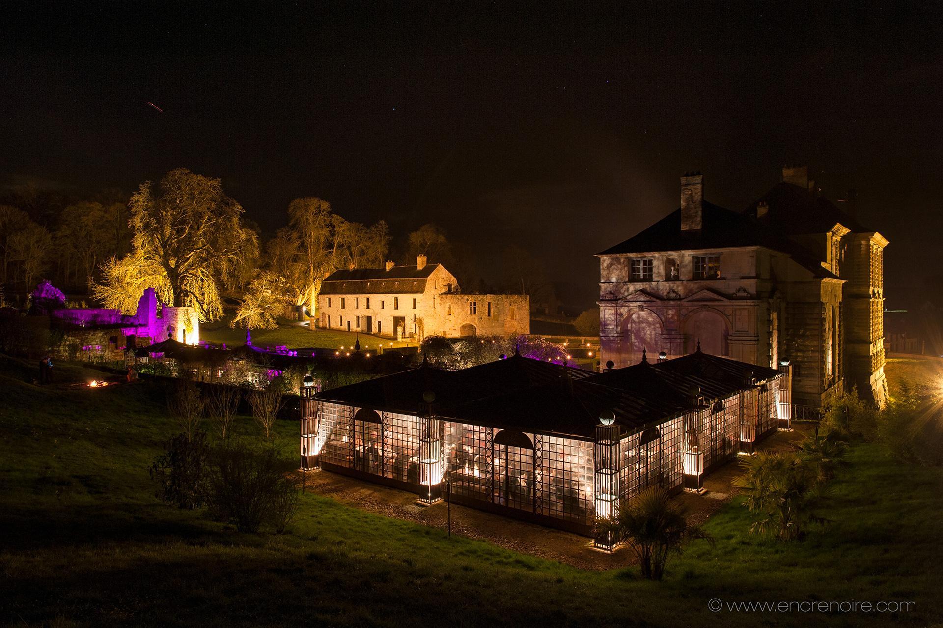 Mariage d'hiver au château
