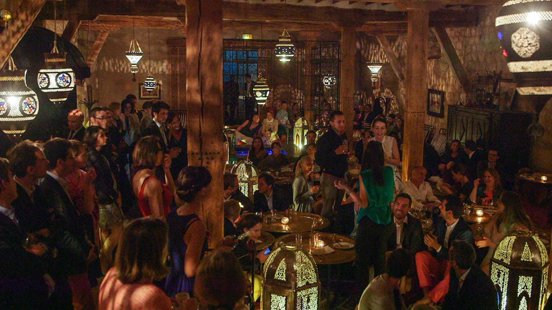 au château, le pavillon accueille les veilles ou lendemains de mariage