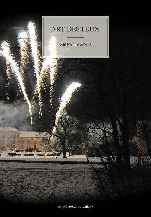 réception de mariage au château : l'art des feux