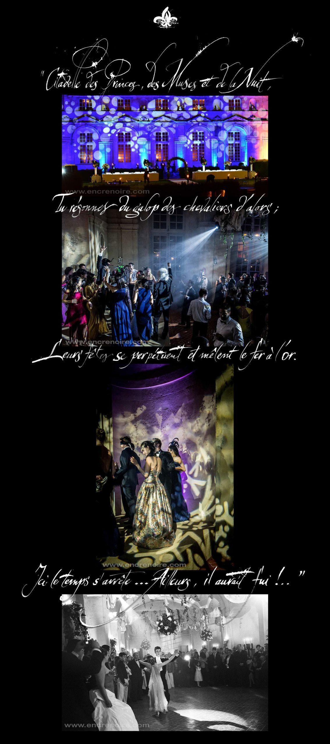 les citations qui illustrent le mieux les réceptions de mariage au château