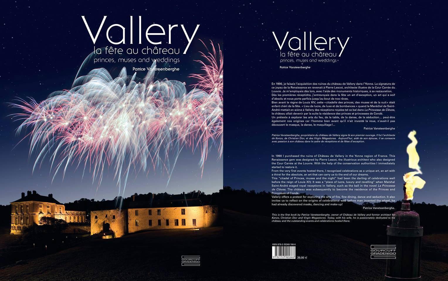 La fête au château de Vallery ; mariages, anniversaires et autres réceptions