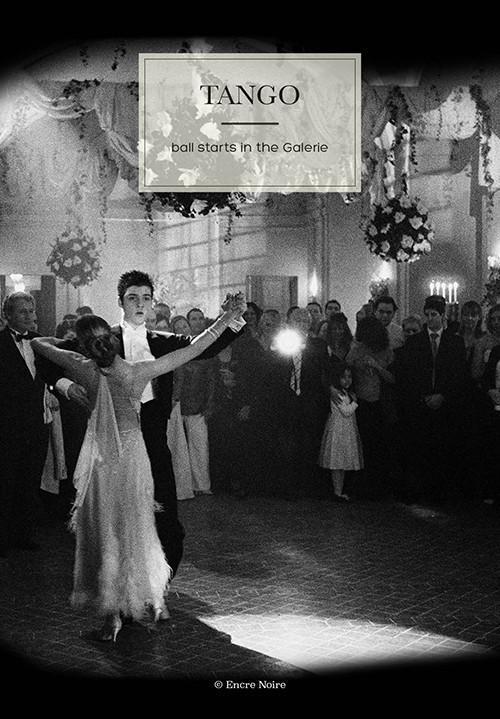 L'ouverture du bal de mariage au château, par un tango